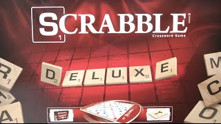 Scrabble Deluxe Set from Hasbro