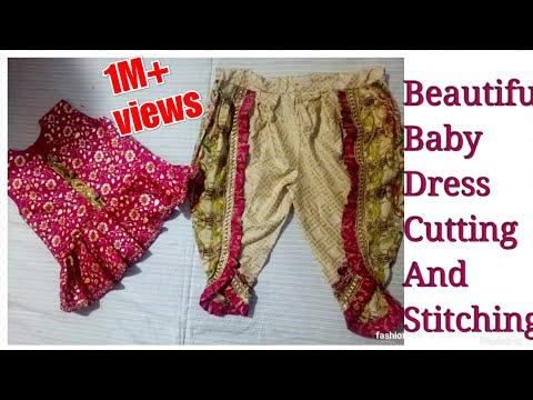 bd8c3bded tulip shalwar how to make baby girl dress summer frock design 2018 ...