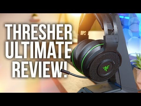 Razer Thresher Ultimate Wireless Headset Review & Unboxing! PS4, Xbox One & PC