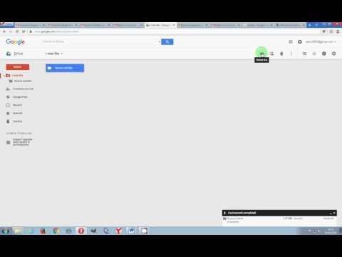 Usare Google Drive per l'invio di files