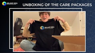 Care Package Unboxing | IS Milano 2021