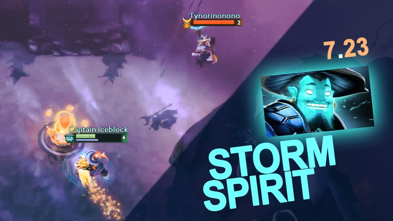 Storm Spirit In 7 23 What Changed A Patch Guide Dota 2 Analysis Youtube