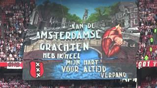 Tifo actie VAK410 - Aan de Amsterdamse grachten