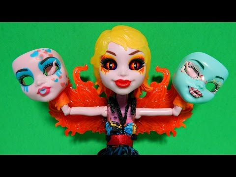 Monster High Inner Monster Fearfully Feisty Fangtastic Love Spooky Sweet Doll Unboxing Toy Review