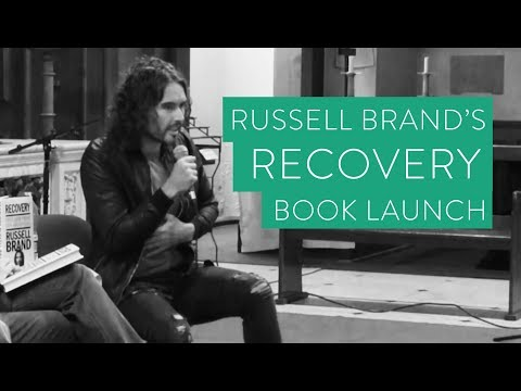 """Russell Brand's """"Recovery"""" Book Launch 