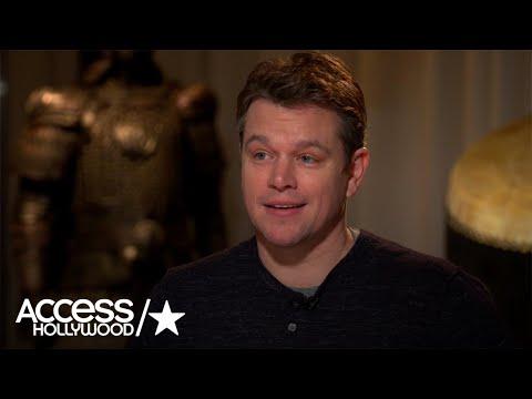 Matt Damon Jokes About Tom Brady's Missing Jersey