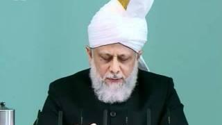 Cuma Hutbesi Türkçe tercümesi 8th July 2011 - Islam Ahmadiyya