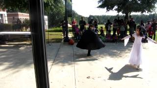 Count Dracula and his Bride - Halloween Dance - Atlanta Family Block Party - Oct. 2012