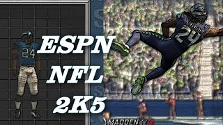ESPN NFL 2K5 Marshawn Lynch with Madden 16 Ratings