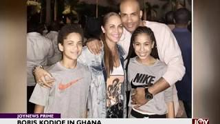Boris Kodjoe in Ghana - Joy Entertainment Prime (2-1-18)