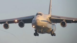 BEAUTIFUL Arrival AN124 RA82013, Russian Air Force at Geilenkirchen