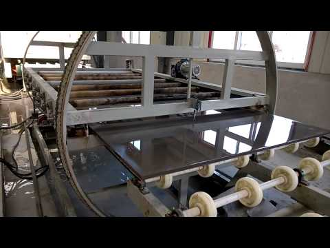 polishing line machines, quartz slab polishing line machine,