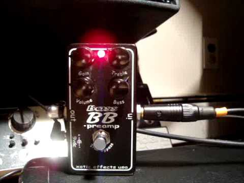 Part 1: Xotic Bass BB Preamp Demo
