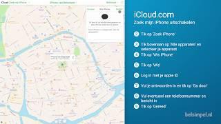 Tips & Tricks - iCloud: Zoek mijn iPhone uitschakelen screenshot 2