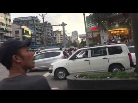 Yangon Chinatown Myanmar 30/06/16