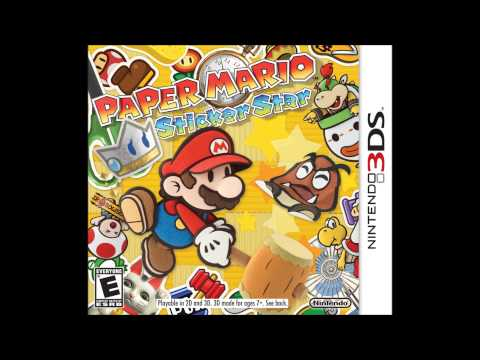 Paper Mario Sticker Star Music; Title Theme