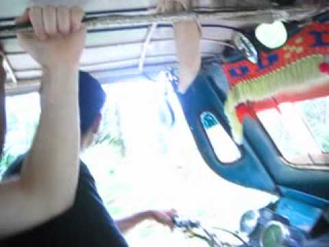 Tricycle Ride in Palawan