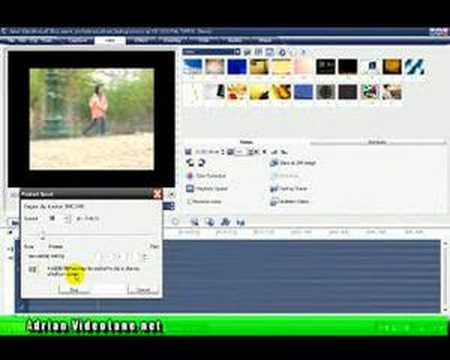 Editing Slow Motion Special Effect with VideoStudio 11 Plus
