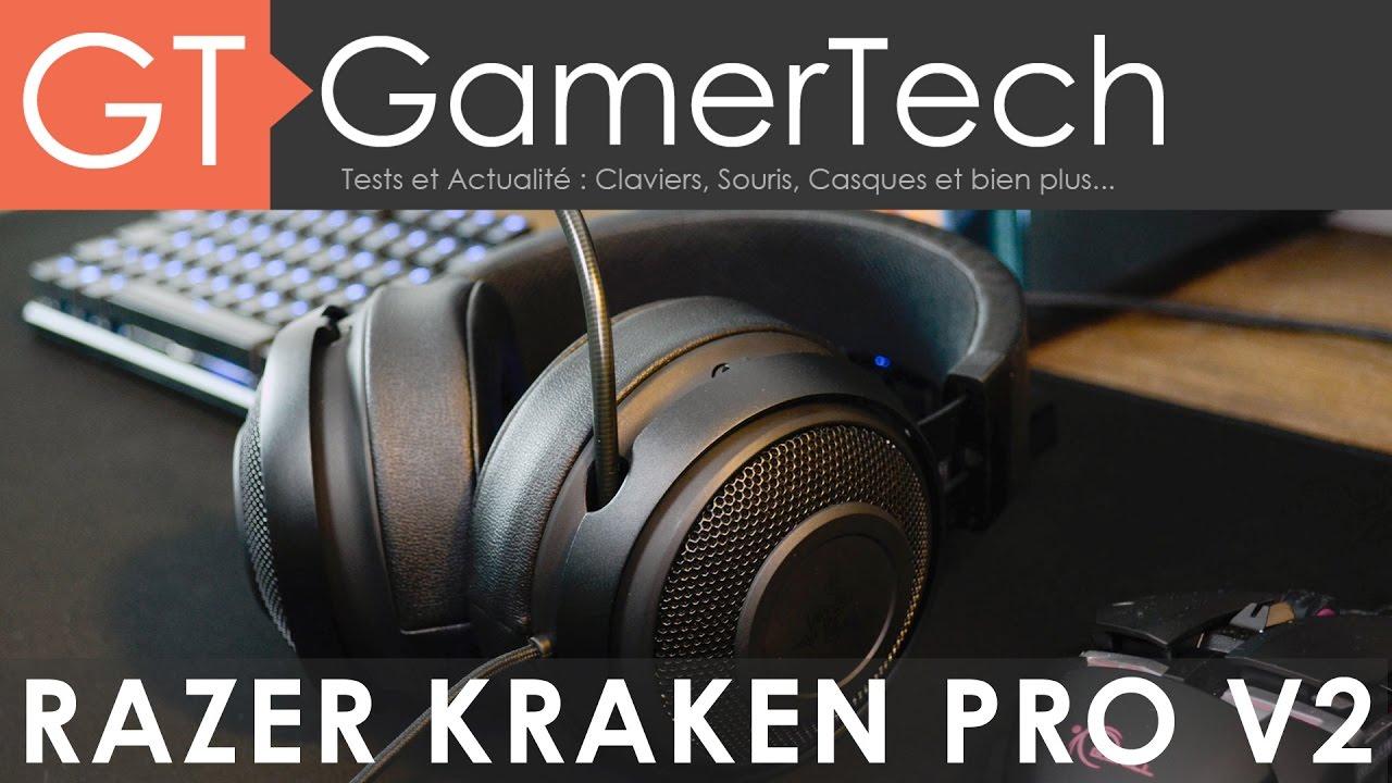 Razer Kraken Pro V2 Unboxing Test Fr Un Casque Gaming