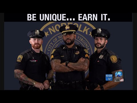 DJ DC - Norfolk PD now allowing full beards, visible tattoos!