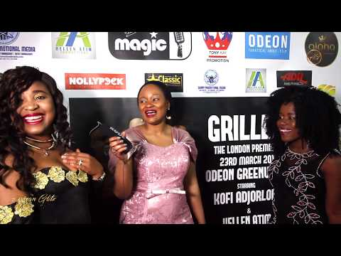 GRILLED movie London Premiere
