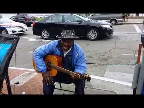 Funny SF man singing in Armenian