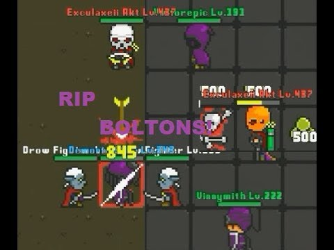 Rucoy Online: RIP BOLTONS! - Exculaxeii Akt #2