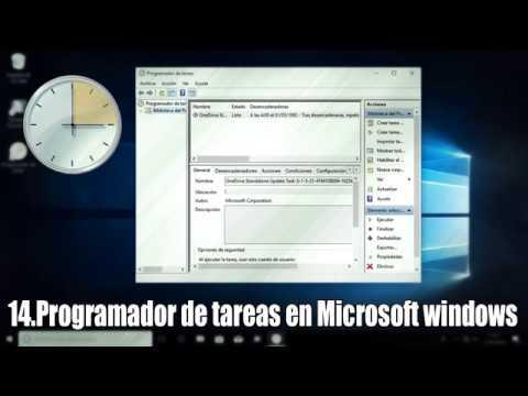Programación de tareas en Microsoft Windows