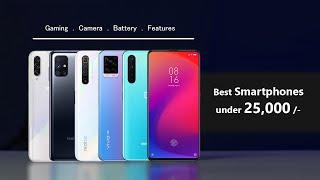 Best Smartphones in 25000 in 2020   Best Mobiles under 25000 - Detailed Comparison