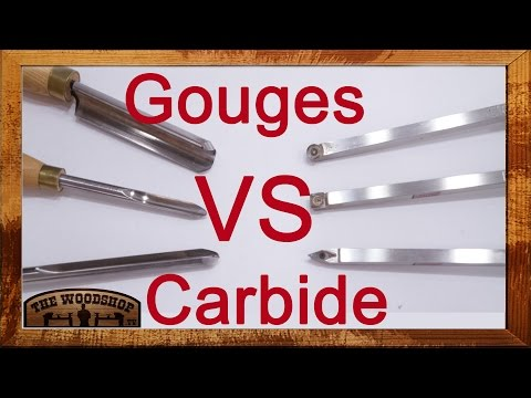 Woodturning | Carbide vs Gouges | Carl Jacobson