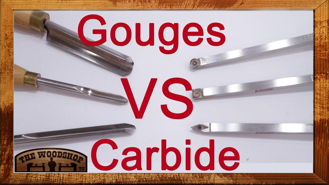 Woodturning - Carbide vs Gouges