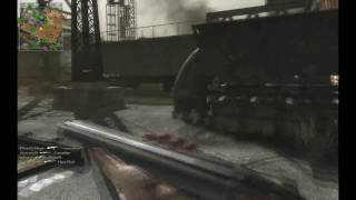Call of Duty - World at War Multiplayer: Gameplay (PC) Sawn-off Shotgun on Corrosion