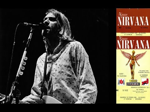 Nirvana LIVE In Grenoble, France 2/18/1994 (MOST COMPLETE/REMASTERED)
