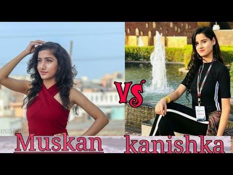 Muskan kalra vs kanishka talent hub Mungda dance who dance better