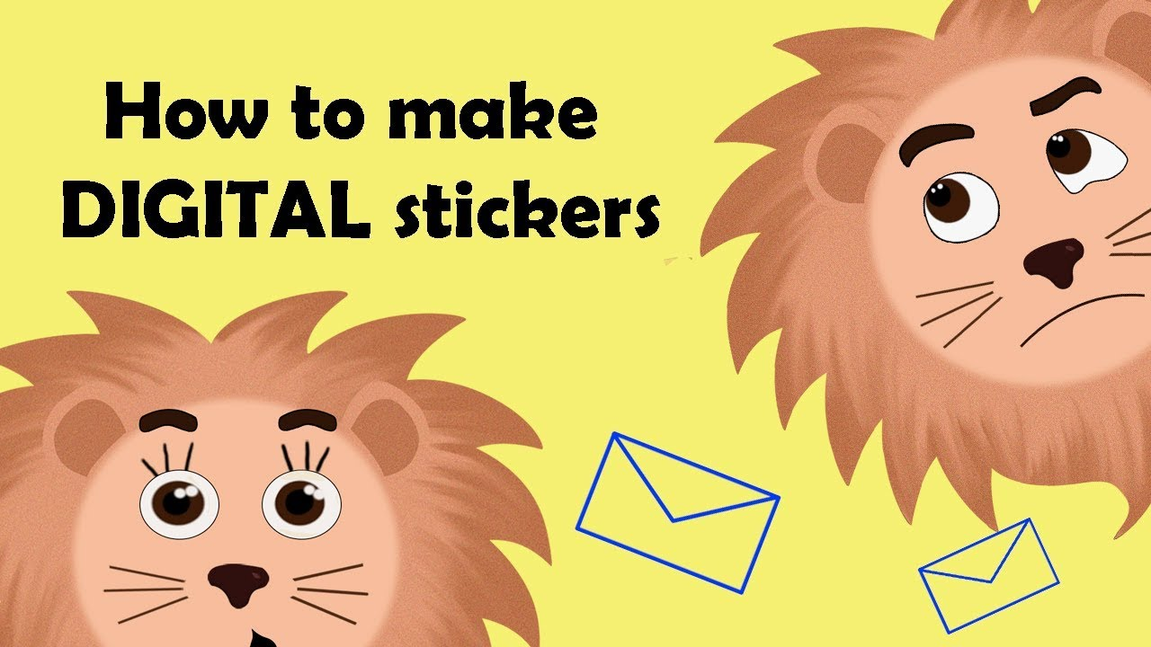 How to make where to sell digital stickers