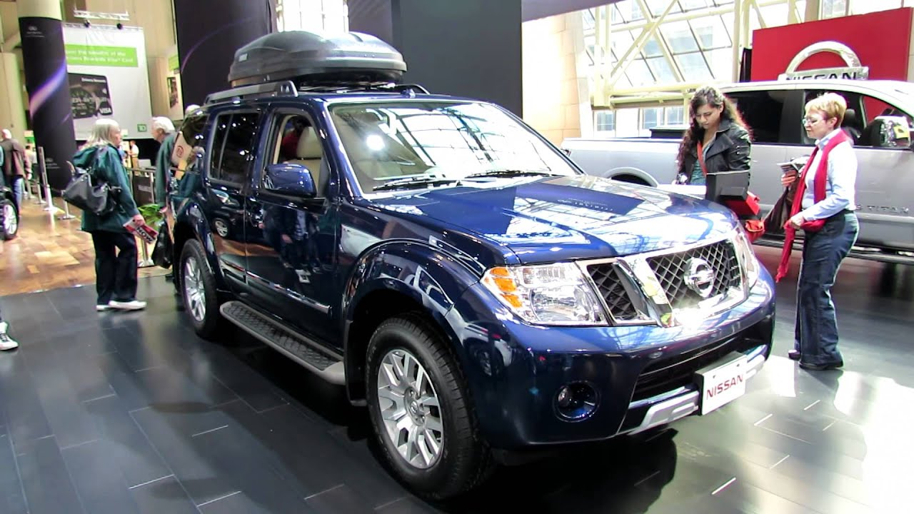 2012 nissan pathfinder le silver edition exterior and interior at
