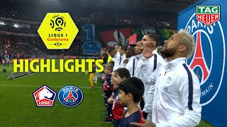 LOSC - Paris Saint-Germain ( 0-2 ) - Highlights - (LOSC - PARIS) / 2019-20