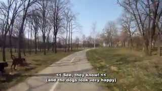 MTB Street view #20 - Belgrade, Serbia - bike path Usce-Kej