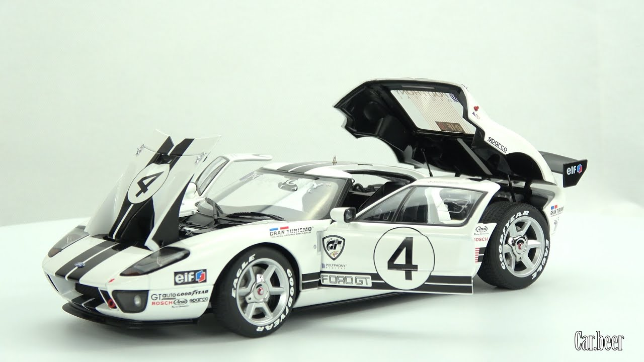Ford Gt Lm Spec Ii Race Car   Autoart Review K High Quality Video