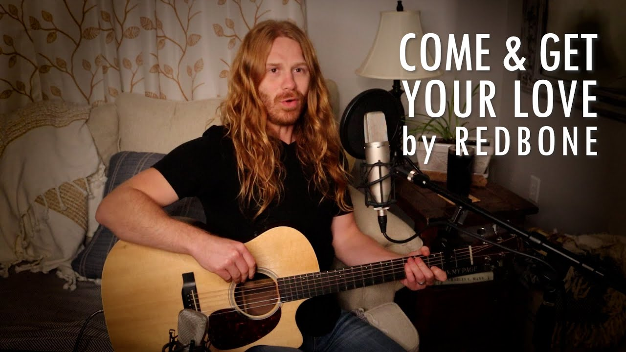 """Come and Get Your Love"" by Redbone - Adam Pearce (Acoustic Cover)"