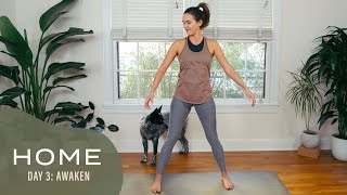 Home - Day 3 - Awaken  |  30 Days of Yoga With Adriene