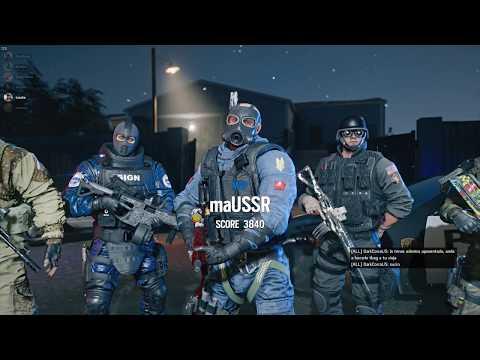 Tom Clancy's Rainbow Six Siege - Reacción Lvl 9000