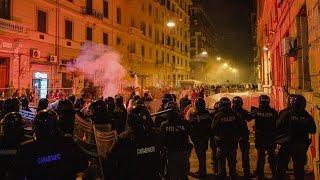 Unruhe in Italien: Angst vor dem zweiten Lockdown