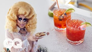 Trixie Mattel Makes a PB&J (and More Importantly, a Cocktail) | GQ