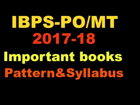 ibps po preparation books free