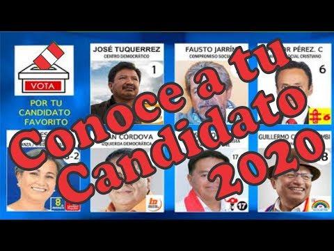 Elecciones Congreso 2020 En El Perú. Conoce A Tu Candidato.