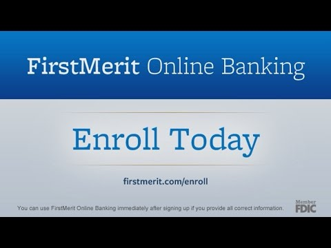 FirstMerit Bank - Online Banking - Product Video