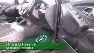 HYUNDAI IX35 DIESEL ESTATE 2011 2.0 CRDI PREMIUM 5DR AUTO MV61DNF