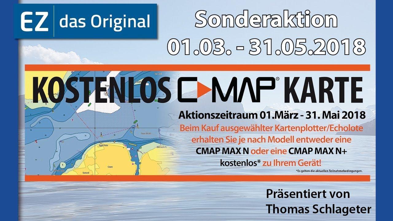 Lowrance & Simrad - kostenfreie C-Map Seekarte / Werbeaktion - Die Erklärung