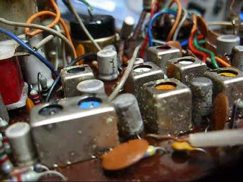 Late-1960's Audition solid state radiio repair attempt